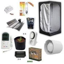 Kit Grow Room Indoor Mammoth Lite 100 100x100x180+HPS 250W Agro Cultilite