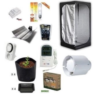 Kit Grow Room Mammoth Lite 100x100x180 + HPS 400W Agro