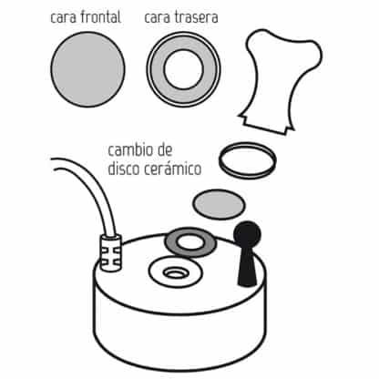 Umidificatore Ultrasonico Mist Maker Fogger 1 membrana-1