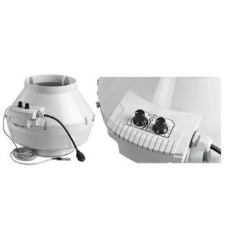 Estrattore d'aria centrifugo Blauberg Max con Termostato per coltivazione indoor