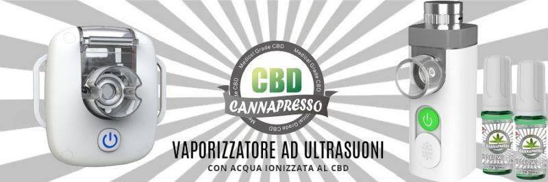 Vaporizzatore Cannapresso ad Ultrasuoni - per trattamenti inalatori e terapeutici