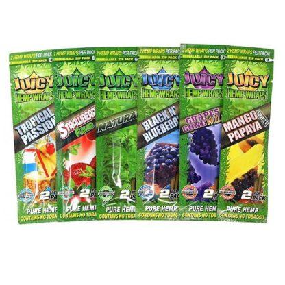 Cartine Natural Hemp 100% Naturale di vari gusti-No Tabacco