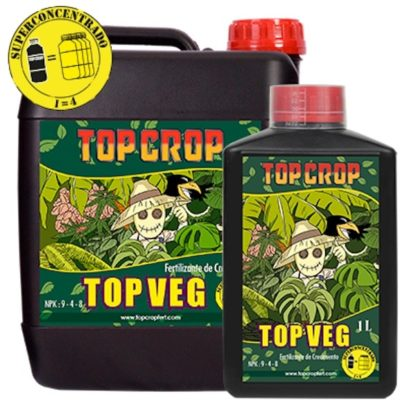 Top Veg Top Crop Fertilizzante per Crescita Professionale